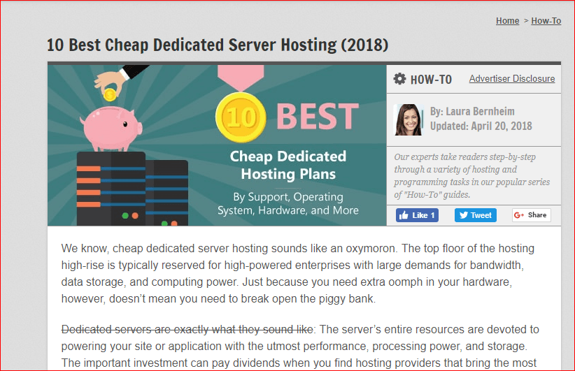 Cheap Dedicated servers list 3