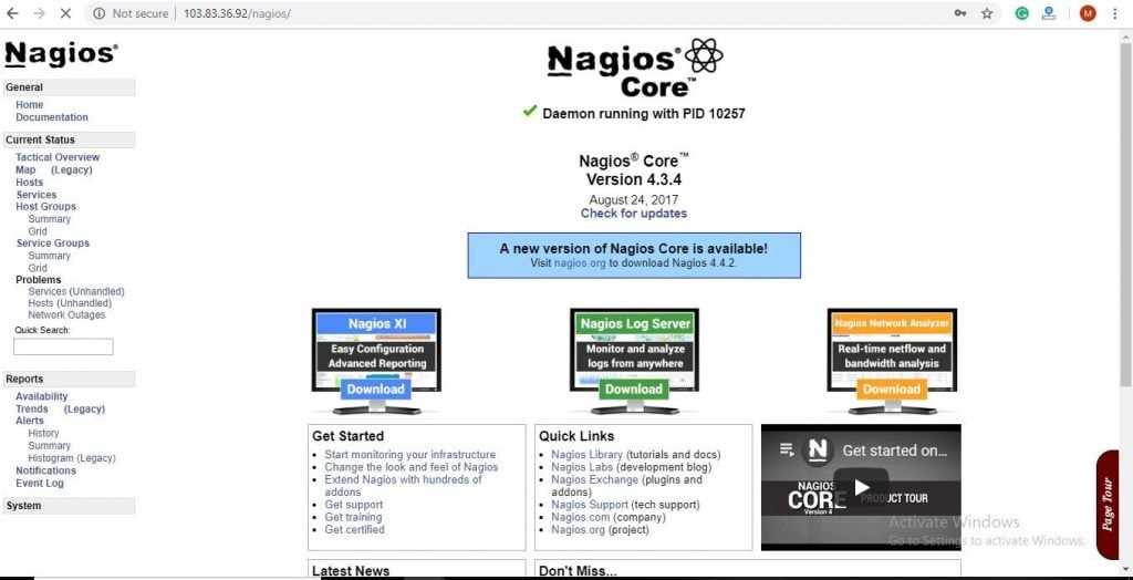 How To Install & Configure Nagios in CentOS 7 and its benifits