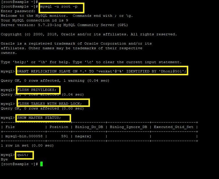 How to Setup MySQL (master-slave) Replication in CentOS 7