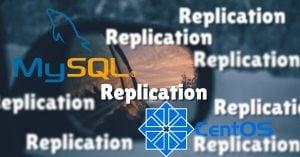 install MySQL on the master server