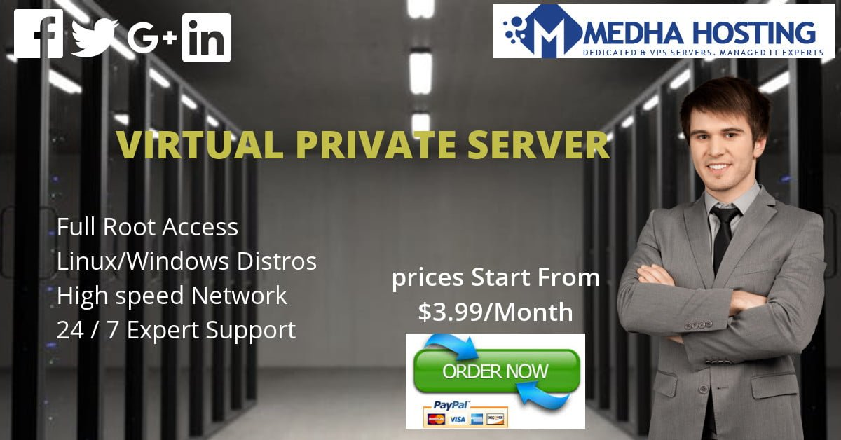 Cheap VPS Server Hosting: Windows and Linux Starts from $ 3 99 Mo