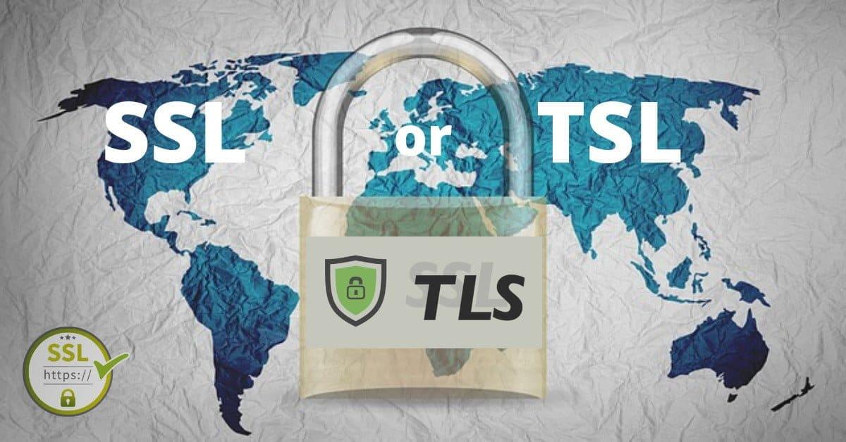 TSL and SSL certificate