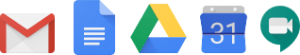 G Suite product logos