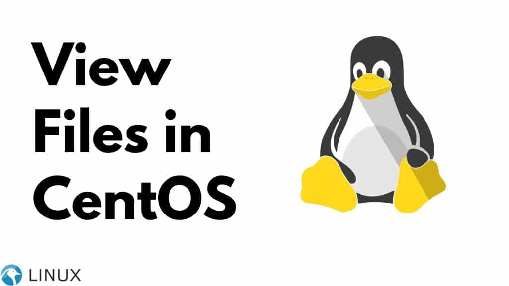 How to View Files in CentOS?