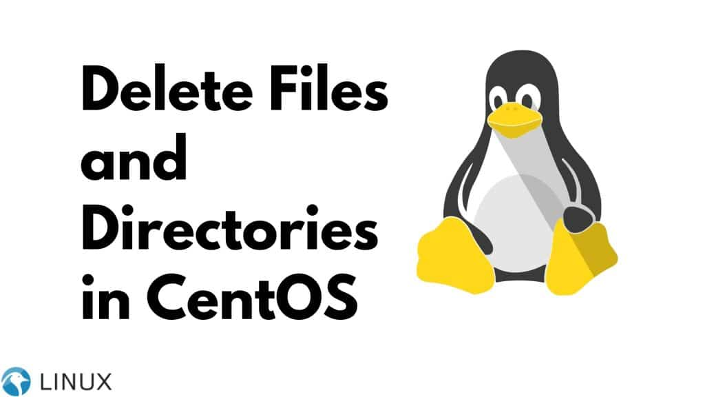 Delete Files and Directories in CentOS