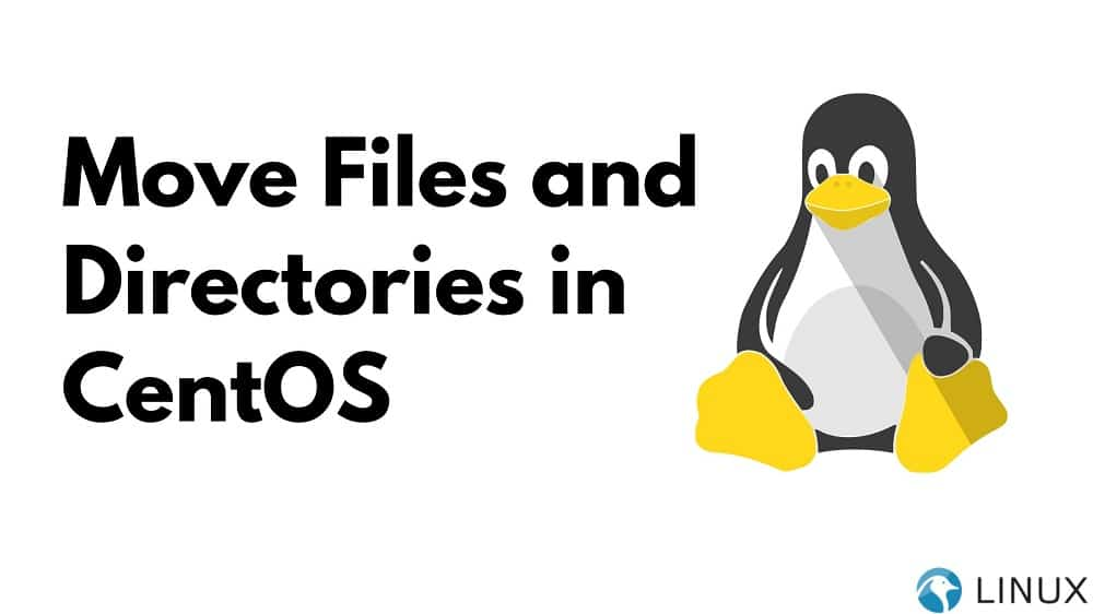 Move Files and Directories in CentOS